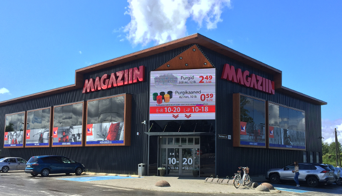 Magaziini kauplused